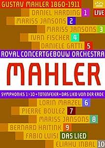 Mahler: Symphonies 1-10; Totenfeier; Das Lied Von Der Erde (Royal Concertgebouw Orchestra) [DVD]