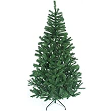 shatchi Gift 4 All Occasions 6ft Christmas Tree GREEN 550 Pines Artificial Tree with Metal Stand