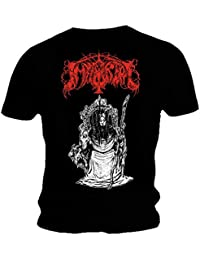 Immortal Official T Shirt Band Black Death Metal 'Throne' All Sizes