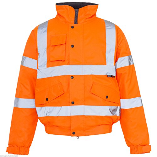 Army And Workwear - Manteau - Homme - Orange - BOMBER