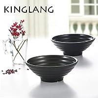 kinglang plástico caliente venta Ramen cuenco grande sopa cuenco de fideos de plástico para restaurante, 1009L