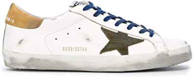 Golden Goose Luxury Fashion Uomo GMF00101F00036810289 Bianco Pelle Sneakers | Autunno-Inverno 20