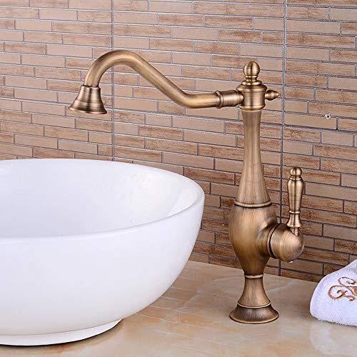Hochwertiges Altes Europäisches Kupfer Antike Küche Badezimmer Badezimmer Persönlichkeit Süßer Wasserhahn Es Gibt Kein Spritzen gute Qualität Süße Jugend