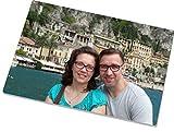 Glasschneidebrett 20 cm x 28,5 cm Inkl. Fotodruck + Wunschtext