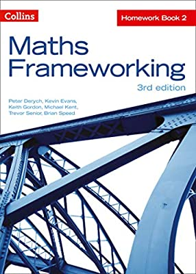 KS3 Maths Homework Book 2 (Maths Frameworking) from Collins Educational