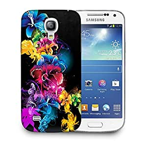Snoogg Colorful Flowers Designer Protective Back Case Cover For SAMSUNG GALAXY S4 MINI