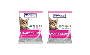 PetCrux™ Exclusive Scoopable Smart Bentonite Cat Litter, 5Kg (Pack of 2 - Total 10 kg)