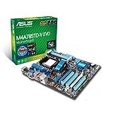 Asus M4A785TD-V EVO ATX Mainboard (Sockel AM3, AMD 785G (RS880), 5.2 GT/s FSB)