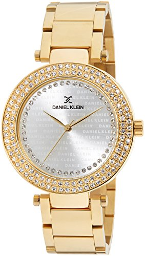 Daniel Klein Analog Silver Dial Women's Watch - DK10860-1 image