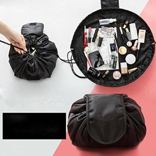 Fulltime Portable Beauty Drawstring Reise Make-up Tasche Organizer Lagerung Schmuck Kosmetik (A)