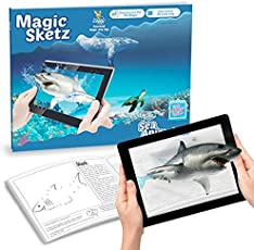 Augmented Reality - 3D Coloring Book - Magic Joey - Sea Animals [Paperback] [Jan 01, 2016] AugmentWorks