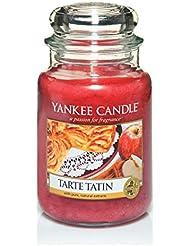 Yankee Candle 1332243E Bougie Tarte tatin en jarre Marron