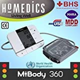 HoMedics Upper Arm USB Digital Blood Pressure Hypertension Monitor/Machine/Meter