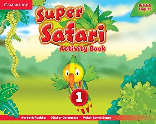 Super Safari Level 1 Activity Book (Super Minds)