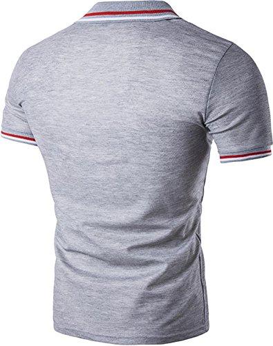 Sportides Herren Poloshirt LightGray