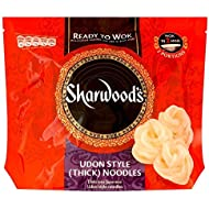 Sharwood's Listo Para Wok Fideos Gruesos Estilo Udon (300g) (Paquete de 6)