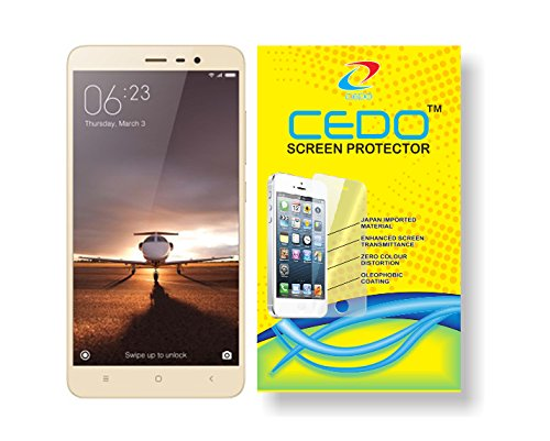 CEDO for Xiaomi Redmi Note 3 - anti shatter Tempered Glass Screen Protector