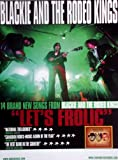 BLACKIEAND THE RODEO KINGS - Tourplakat - Let's Frolic - Tourposter Test
