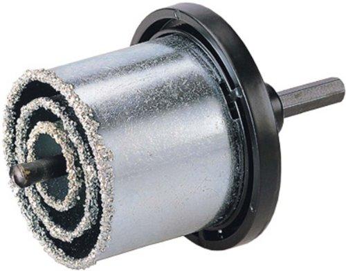 KEIL 715 033 073 Universalbohrkronensatz 6-teilig,  Ø 33,0 / 53,0 / 67,0 / 73,0 mm, mit Aufnahmeteller + Zentrierbohrer, in Faltschachtel