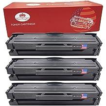 Toner Kingdom 3 Paquete Compatible Cartucho de tóner Para Samsung MLT-D111S Xpress SL-M2020W SL-M2020 SL-M2022 SL-M2022W SL-M2026 SL-M2026W SL-M2070 SL-M2070W SL-M2070FW Impresora Negro