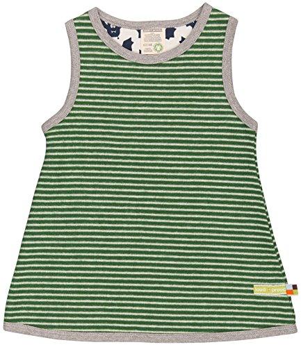 n Kleid Ringel, Grün (Pine/Natural Pin/Na), 128 (Herstellergröße: 122/128) (Mädchen Kleid Shop)