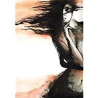 """Ein Originalbild, handgemalt und signiert aus der Serie"""" Expressive Frauen"""""""