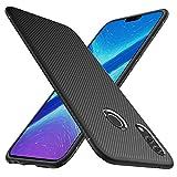 iBetter Honor 8X Hülle, [Schwarz Soft Hülle] Ultra Thin Silikon Schutzhülle Tasche Soft TPU Hüllen Handyhülle für Honor 8X Smartphone