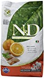 Hundefutter Trockenfutter N&D Fisch & Orange, Getreidefrei - Natural & Delicious Farmina (2500 Gramm)