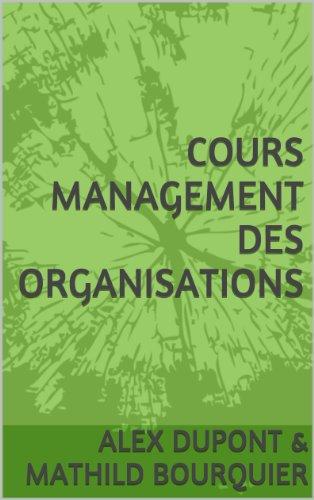 Cours Management des Organisations