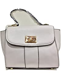 Grey Mini Sling Bag Handbag For Women Girls Ladies Sling Shoulder Stilvoll Tote Trendy Bag Purse Multipurpose...