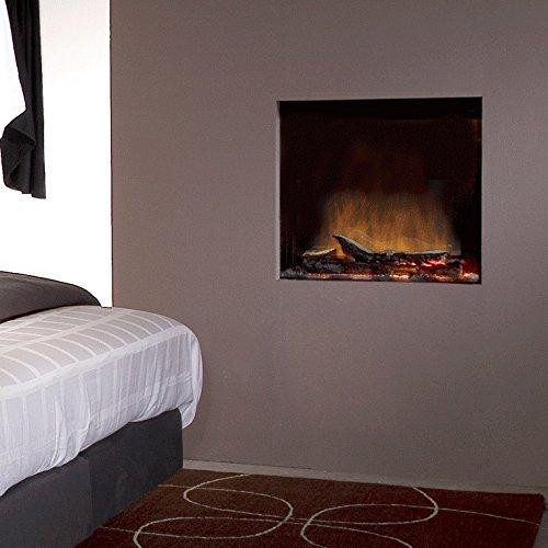 Faber Rana Interior Built-in Fireplace Eléctrico Negro - Chimenea (652 mm, 197...