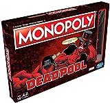 Hasbro E2033102 Monopoly-Spiel, Deadpool-Edition (Marvel) (evtl. Nicht in Deutscher Sprache)