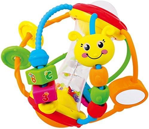 Weekendy Jouet drôle de de de bébé Bébé Mignonne éducation Puzzle Main hochets Bell  s Funnny Balle Jouets Cadeau | Les Clients D'abord  17179b