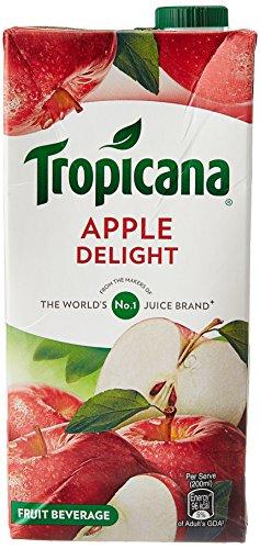 Tropicana Delight Fruit Juice - Apple, 1 Ltr