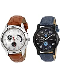 Codice Wrist Watch Analog Watches For Men & Boys Watch Combo Watch 2 Mens Watches-BlueAvo