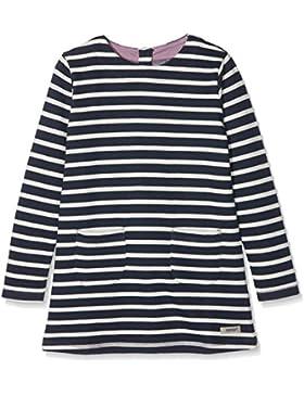 Papfar Striped Sweat Kleid, Gots-Zertifiziert, Vestido para Niños