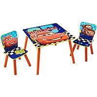 Preisvergleich für TW24 Disney Kindersitzgruppe - Kindertisch - Kinderstuhl - Sitzgruppe Kinder - Cars