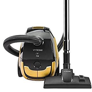 VYTRONIX BGGC01 2L Compact Powerful Turbo Bagged Cylinder Vacuum Cleaner