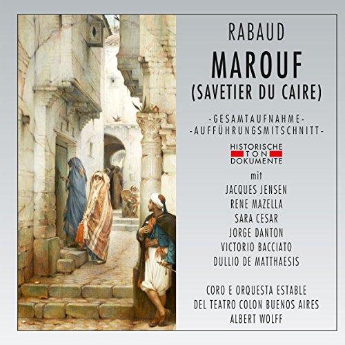 Marouf (Savetier du Caire) [Import allemand]