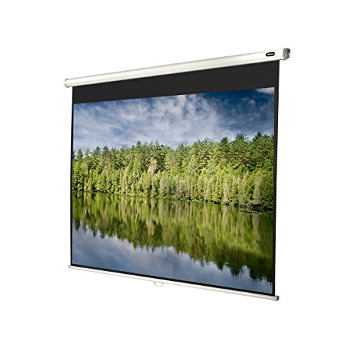 Celexon Rolloleinwand Economy | Format 4:3 | Nutzfläche 200 x 150 cm | Beamerleinwand geeignet für jeglichen Projektortyp | Auch als Full-HD und 3D Leinwand einsetzbar | einfache Installation & gute Planlage |