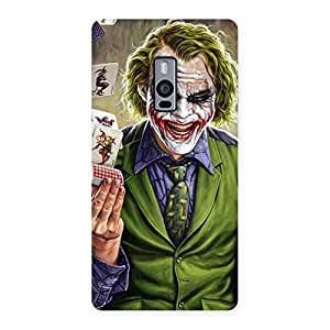 Neo World Cards Man Back Case Cover for OnePlus 2