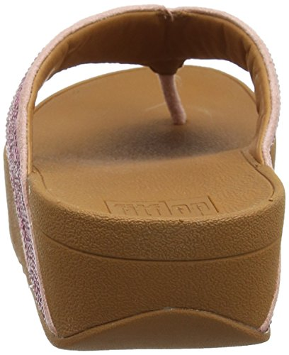 Fitflop Ritzy Toe-Thong Sandals, Sandali Punta Aperta Donna Pink (Dusky Pink)