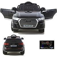 simron Audi Q7 Quattro SUV Elektro Kinderauto Kinderfahrzeug Ride-On 12V Kinder Elektroauto