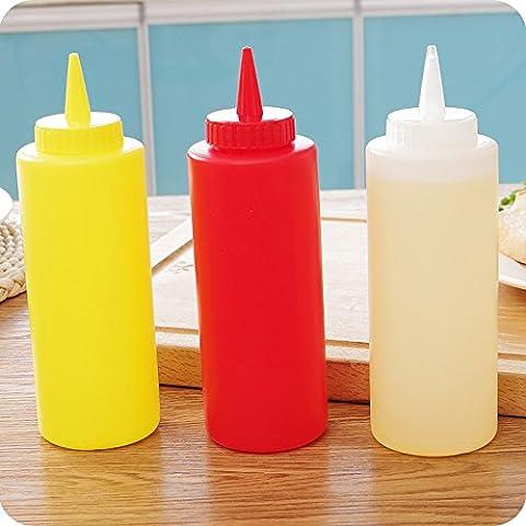 yifom Leak Salsa bottiglia di ketchup squeeze bottiglia bottiglie per