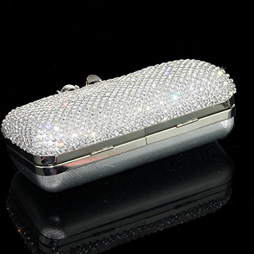 YYW Evening Bag, Poschette giorno donna Silver