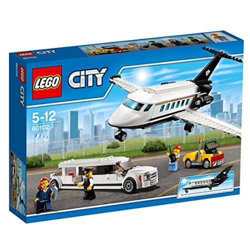 LEGO City 60102 - Flughafen VIP-Service, Bausteinspielzeug -