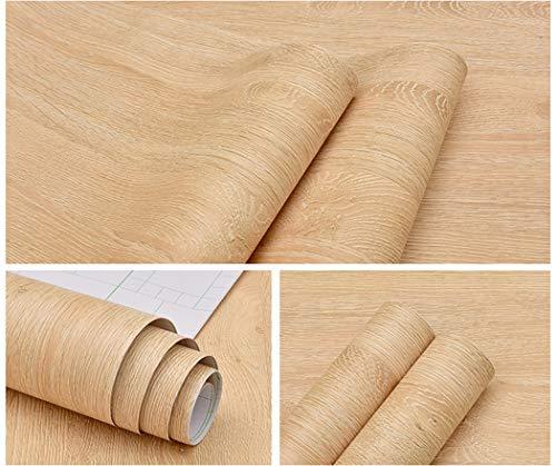 Handwerk-regal-schrank (Selbstklebendes Vinyl Kunstleder Ahorn hell Holz Kontakt Papier für Küche Schränke Regalen Schublade Tisch Schreibtisch Kunst und Handwerk Aufkleber 61x 297,2cm)