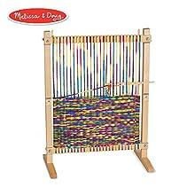 Melissa & Doug Wooden Multi-Craft Weaving Loom (Frustration-Free Packaging)