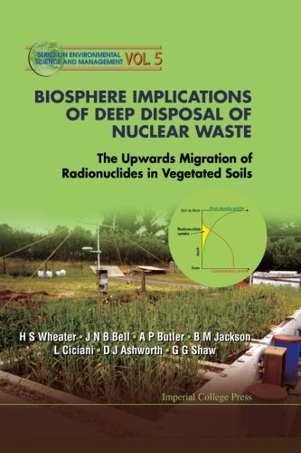 Biosphere Implications Of Deep Disposal Of Nuclear Waste: The Upwards Migration Of Radionuclides In Vegetated Soils por Howard S Wheater