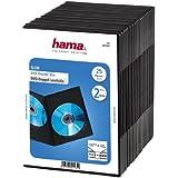 Hama Lot de 25 boîtiers DVD Slim, pour 2 DVD
